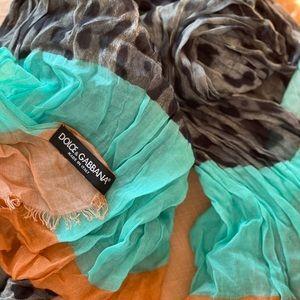 DOLCE&GABBANA scarf